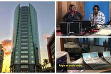 Martinique la 1ère dans ses nouveaux locaux de la tour Lumina à Fort-de-France