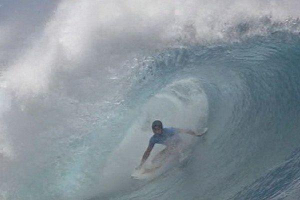 Jeremy Flores, vainqueur de la Billabong Pro Tahiti 2015