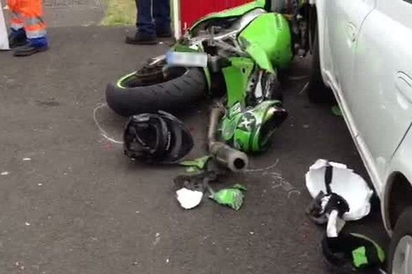 Collision mortelle à St-André