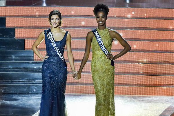 Miss Martinique, première dauphine et miss France 2016