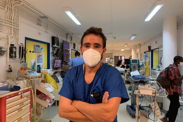 Service réanimation saturé centre hospitalier de Mayotte Dr Blondé