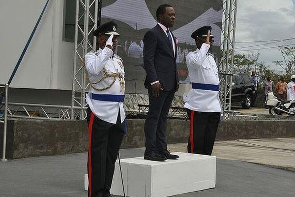 Keith Mitchell, premier ministre de la Grenade
