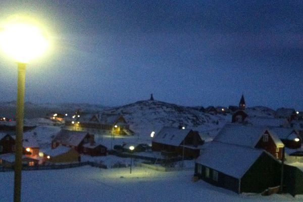 Groenland la nuit