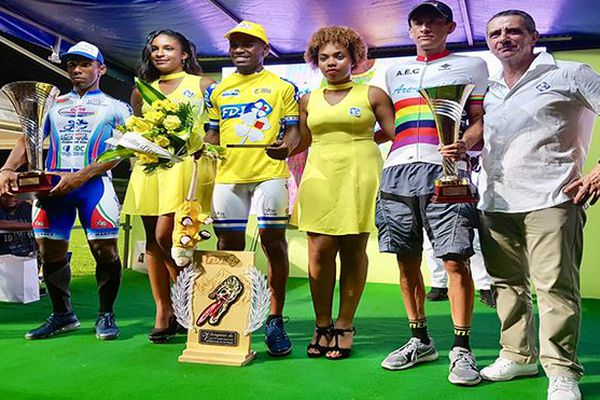 Tour cycliste de Martinique : le podium final