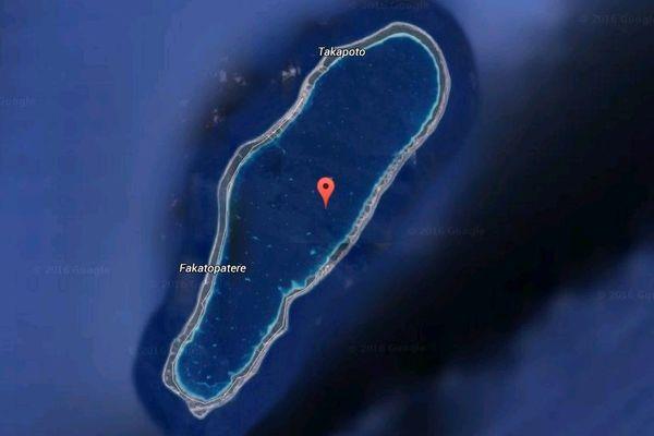 L'atoll de Takapoto