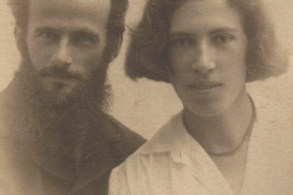 Paul Émile Pasteur et sa femme née Hélène Félix