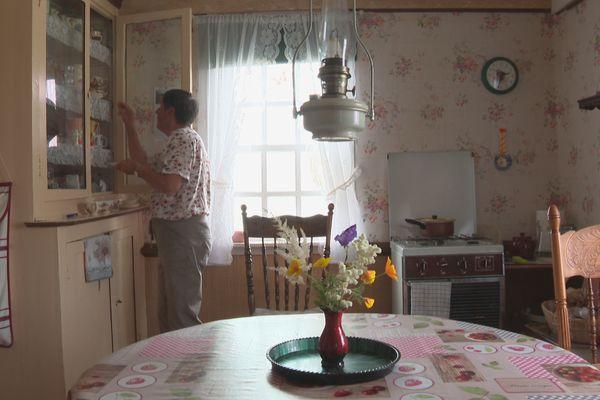 La maison de Claudette à l'ïle aux marins témoin d'un passé révolu