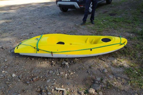 Le kayak du pêcheur