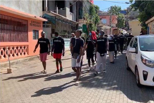 Marche spontanée et silencieuse Mtsapéré 2