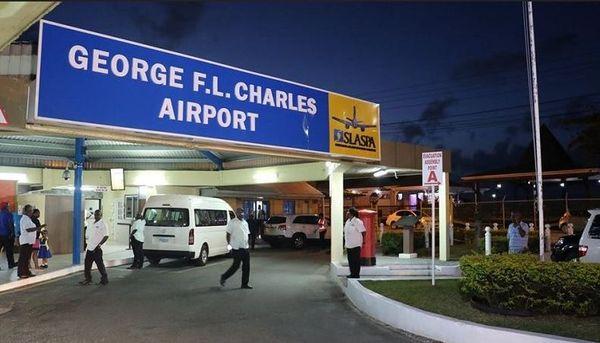 Sainte Lucie aéroport George Charles