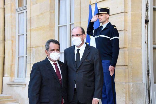 Rencontre entre Edouard Fritch et Jean Castex - 3 octobre 2020