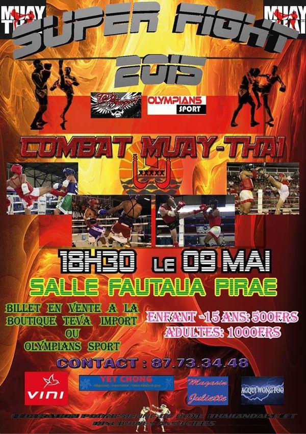Boxe thaïlandaise Super Fight