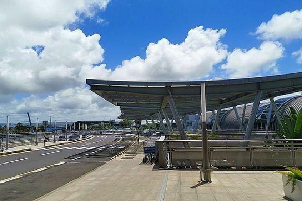 Aéroport de Plaisance à l'île Maurice vide
