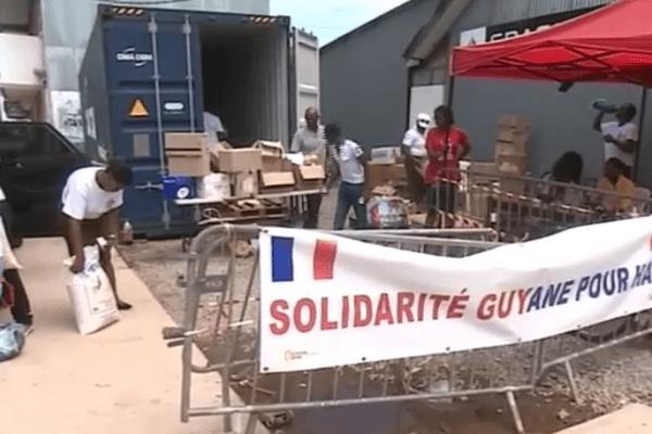 Collecte pour Haïti