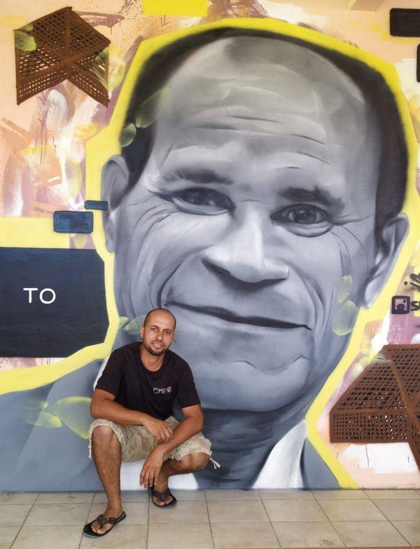 Street art à Terre-de-Bas