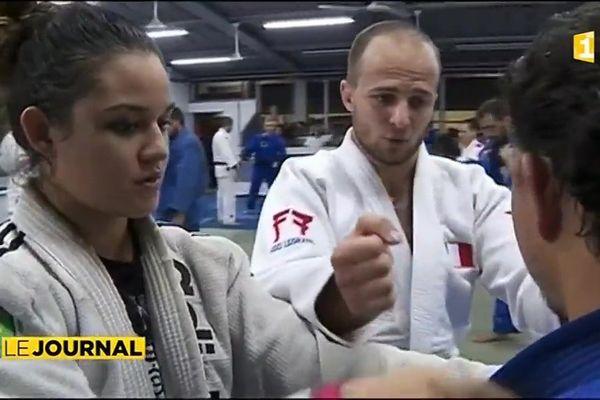 Judo : retour à Tahiti du médaillé olympique Ugo Legrand