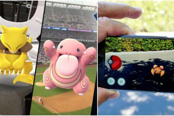 A la recherche du pokemon go!!!