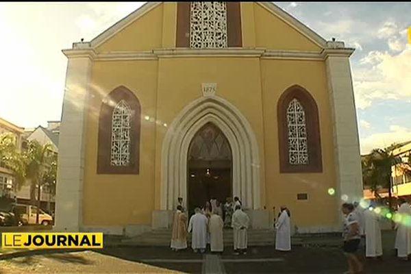 Messe de Pâques : les fidèles au rendez-vous