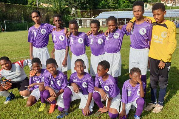 U13 football Rivière-Pilote