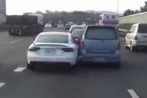 auto tamponneuses Chine
