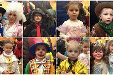 Des dizaines d'enfants ont fêté le mardi gras à la salle des fêtes de Saint-Pierre.