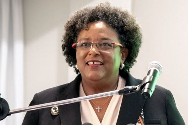 Barbade Mia Mottley premier minisre