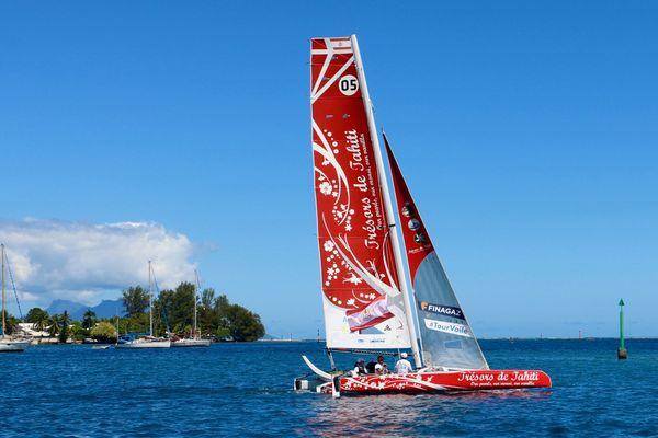 Le sister ship de Trésors de Tahiti à Arue