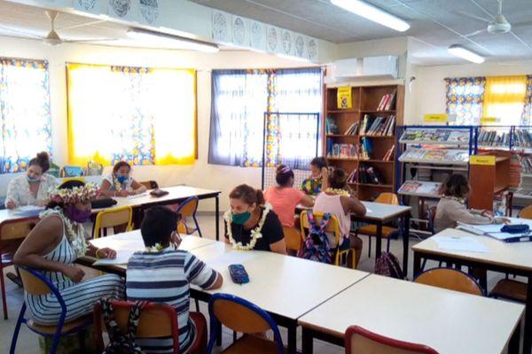 Collège Hao / élèves