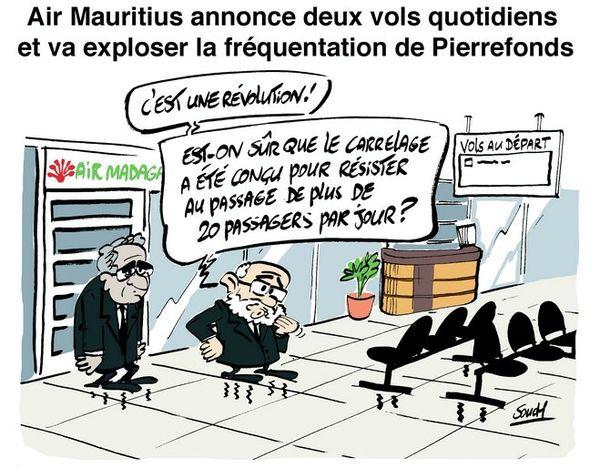 Souch sur Air Mauritius/Pierrefonds