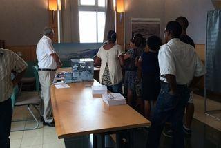 Bureau de vote Sainte-Rose