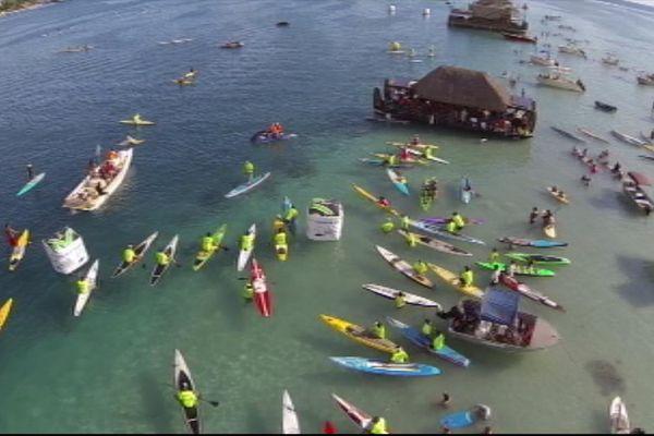 Air France Paddle Festival, compétition classée 5 étoiles
