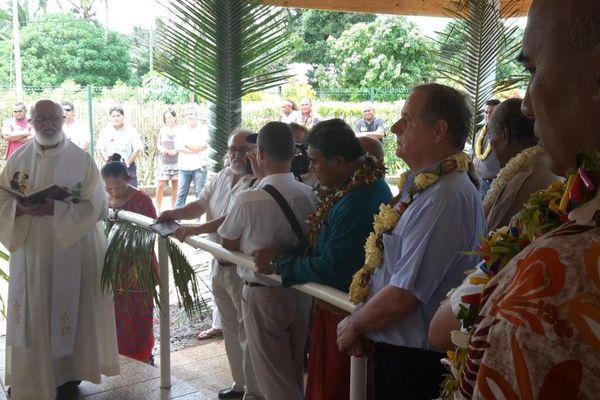 Inauguration du scanner de l'agence de santé
