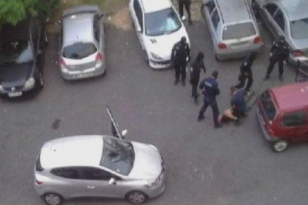 Arrestation cambrioleur Camalon