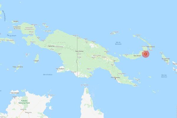 séisme papouasie nouvelle-guinée 2020