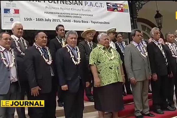 Le S.O.S des leaders du Pacifique : le rechauffement climatique au cœur des préoccupations