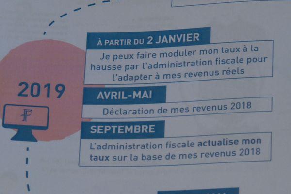 Programme impôt