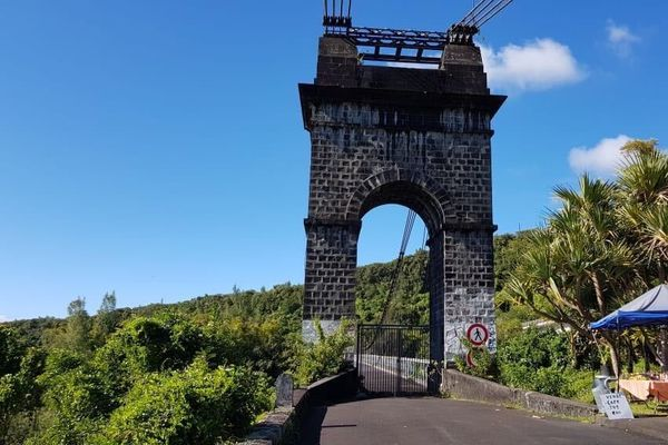 Pont suspendu de la Rivière de l'Est - 3