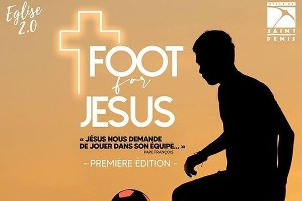 Affiche Tournoi de Foot for Jesus