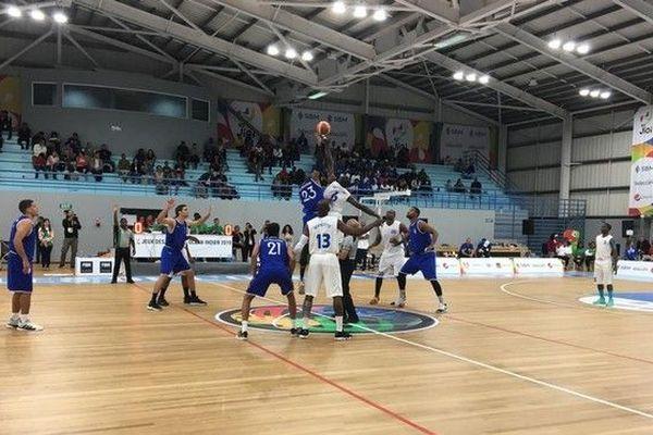 JIOI 2019 basket-ball demi-finale reunion mayotte coup d'envoi 260719