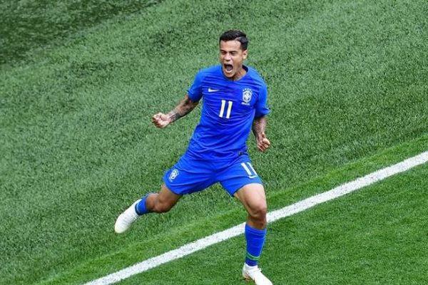 Coutinho exulte, le Brésil s'impose 2-0 contre le Costa Rica