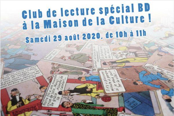 Le club de lecture de la Maison de la Culture