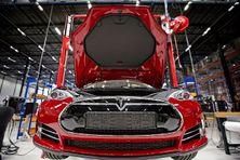 Tesla Giga Factory (production de voitures électriques) au Pays-Bas