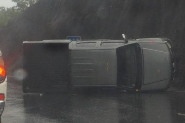 Accident RDO pluie