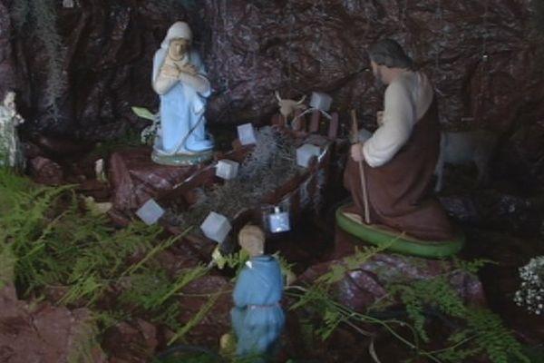 Messe de Noël - crêche