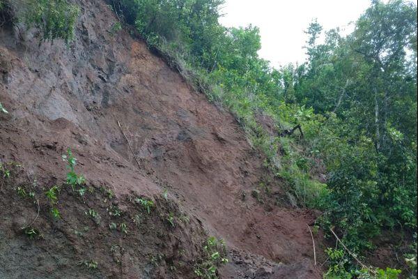 Glissements de terrain en Dominique