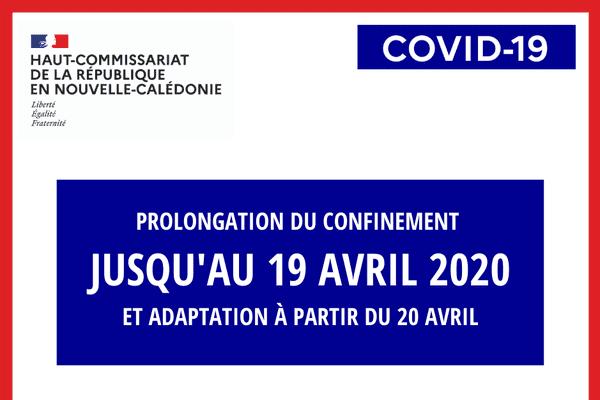 Coronavirus : prolongation au 19 avril minuit
