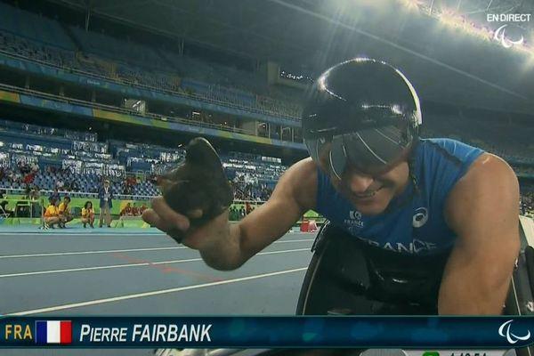 Pierre Fairbank sur 800m