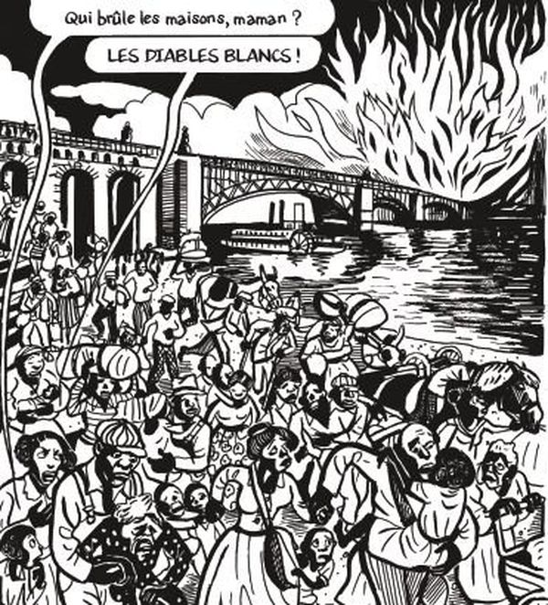 Extrait de Joséphine Baker de Catel et Bocquet