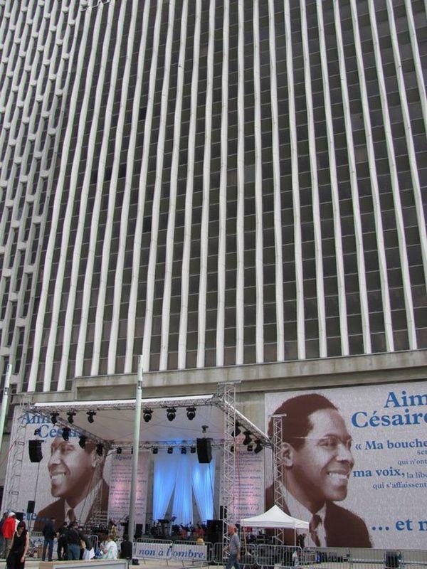 La ville de Montreuil commémore le centenaire d'Aimé Césaire