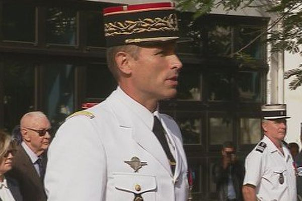 Comgend général Christophe Marietti 11 septembre 2017